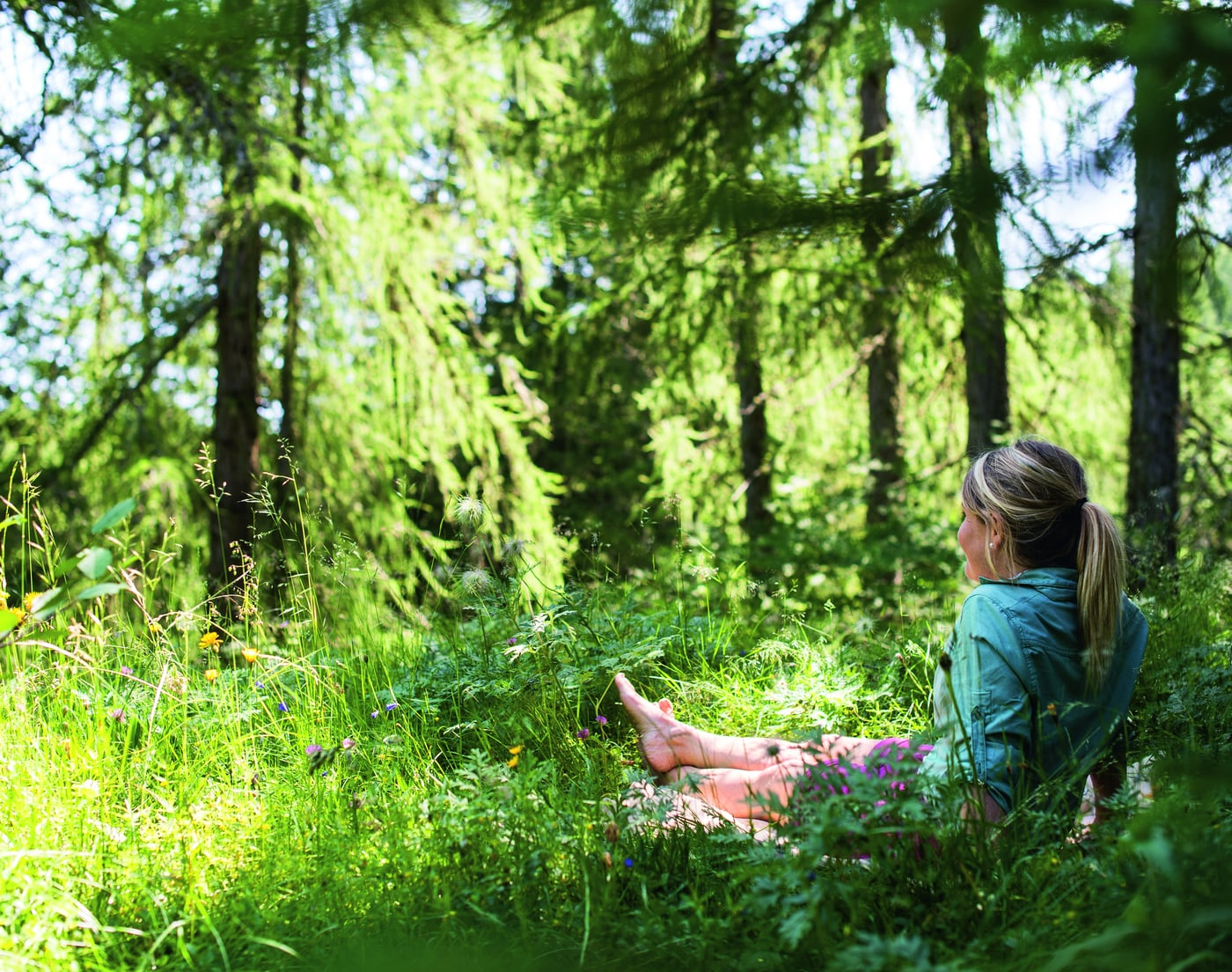 Il Bagno Nella Foresta Vivere Consapevolmente La Foresta Golserhof